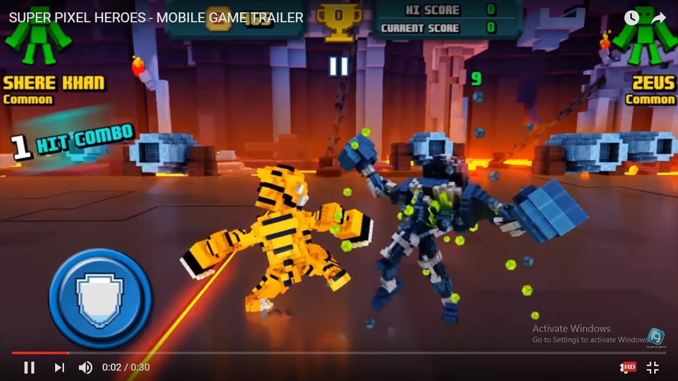 chơi game Super Pixel Heroes online