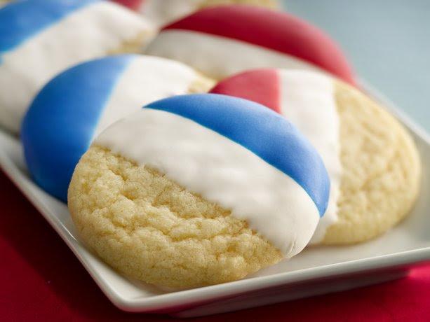 Double Dip Sugar Cookies