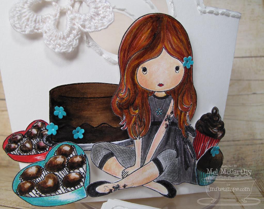 MFT hop CLOSE Fairy Sweet Chocolate Lovin mel stampz