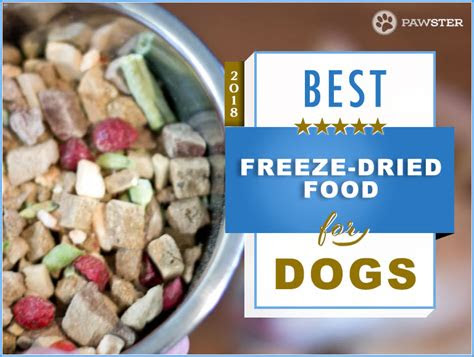 recommended brands  freeze dried dog food