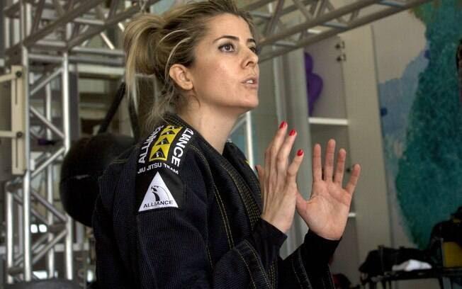 'Vou pegar minha faixa preta de bengala, mas vou pegar', brinca Nair ao falar do futuro no jiu-jitsu