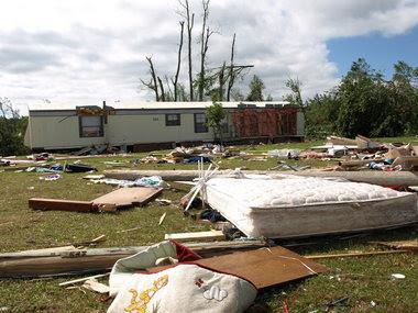 Eclectic Tornado Damage