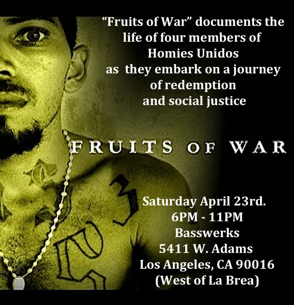 Homies Unidos Blog Archive Homies Unidos Screening Of Fruits Of