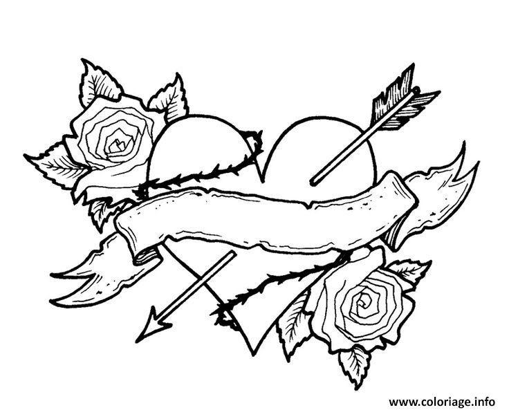 Dessin A Colorier Fleur Rose Ideas Pict For You