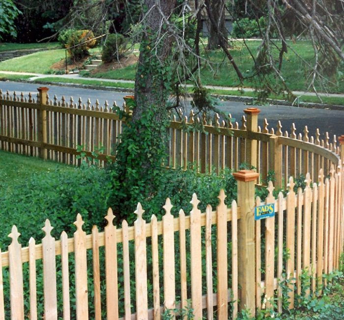 Cool fence ideas for backyard