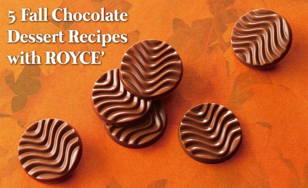 5 Unique Fall Chocolate Dessert Recipes