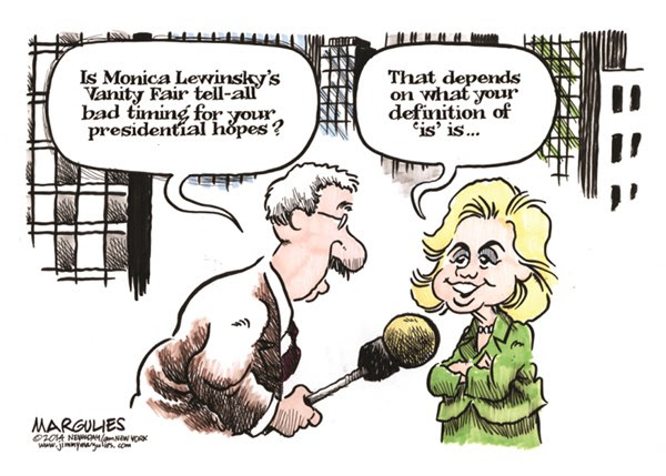 Image result for clinton impeachment cartoons
