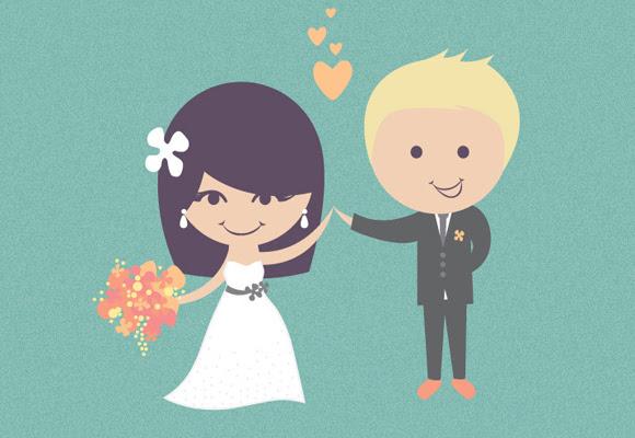 identidade de casamento cmky de designer criativo