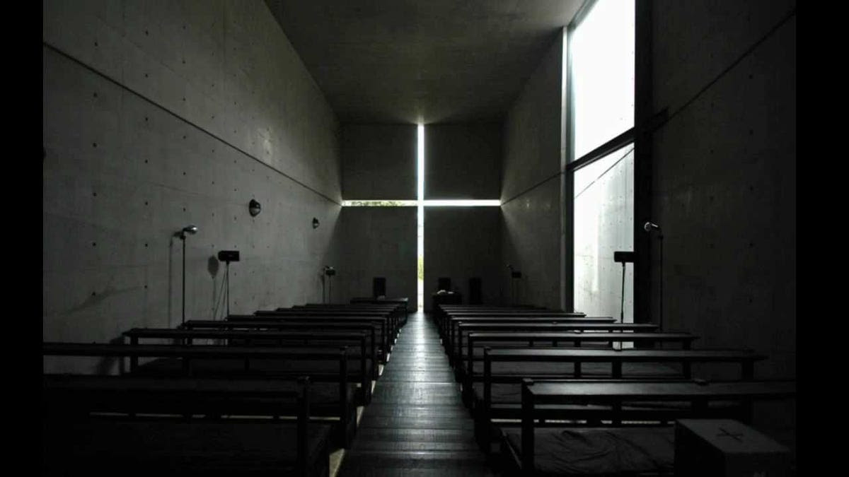 The Church of the Light in Osaka, Japan.
