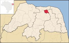 Localização de Jandaíra