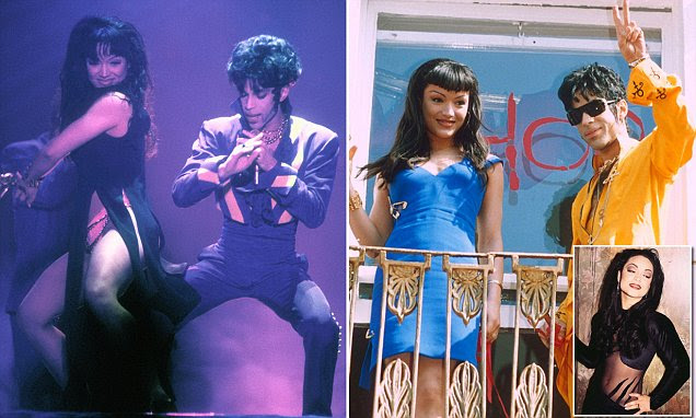 Prince wooed ex-wife Mayte Garcia at 16, had sex at 19 | Daily Mail ...