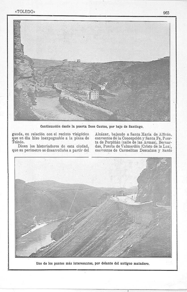Artículo de Manuel Castaños y Montijano sobre la el nuevo Camino de Ronda de Toledo publicado en la Revista Toledo en julio de 1924. Pág. 2