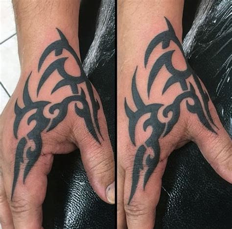 top tribal hand tattoo ideas inspiration guide
