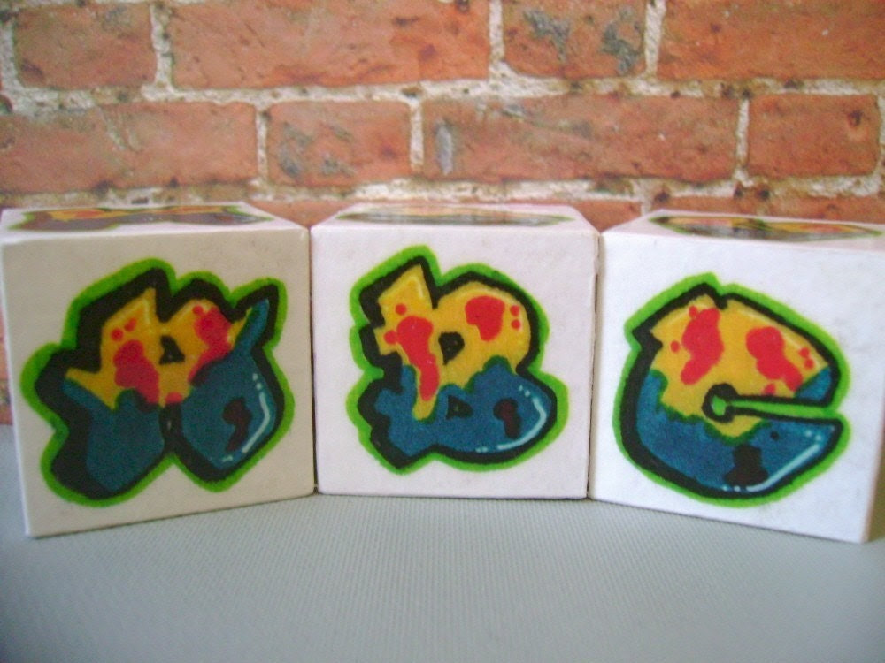 graffiti letters abc. Rockin#39; Blocks Graffiti ABC