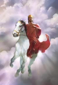 Jesus on the white horse