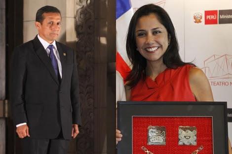 Ollanta Humala y su esposa Nadine Heredia | Efe
