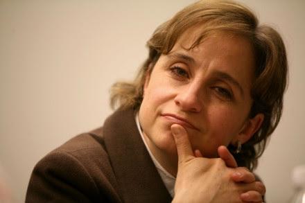 Carmen Aristegui, locutora. Foto: Octavio Gómez