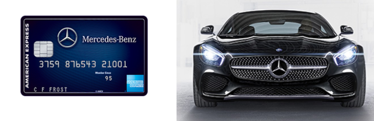 Mercedes-Benz Credit Card from American Express 10,000 ...