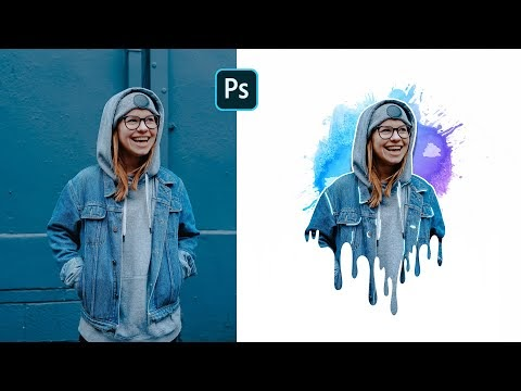 How to Create Creative Dripping Effect