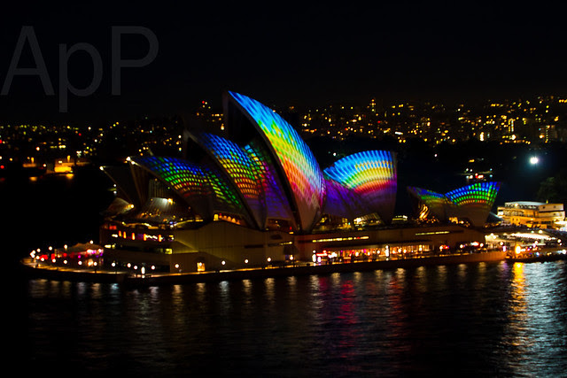 Sydney Opera House - Vivid Sydney 2013