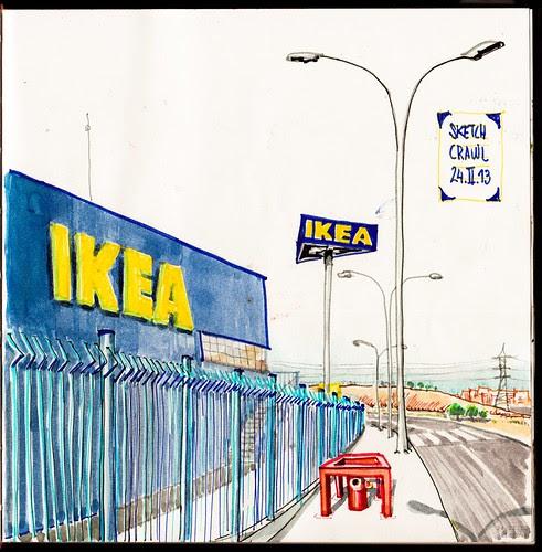 Dibujar en Ikea by aidibus