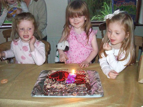 Blowing out the Candles!