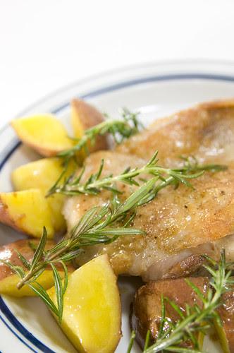 Rosemary Chicken with Potatos