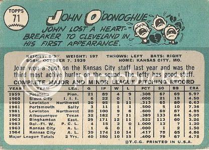 #71 John O'Donoghue (back)