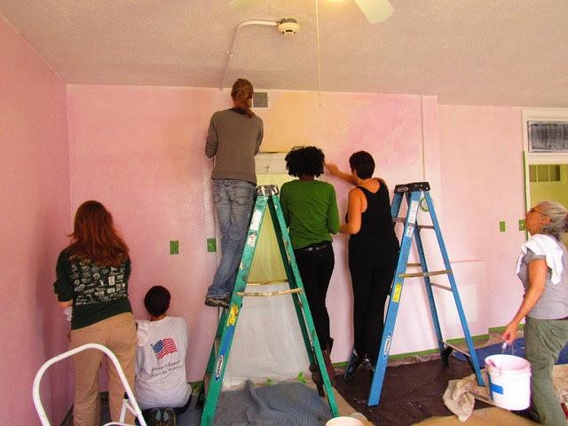 Potomac Crescent Waldorf School Classroom Lazure In Progress 3