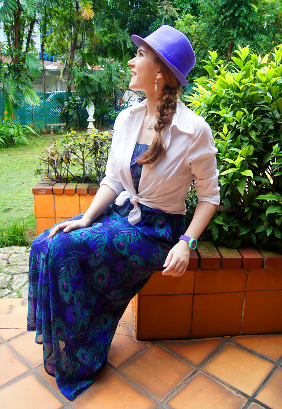 Lilac Hat by The Joy of Fashion (1)