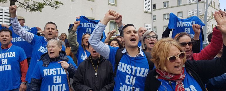 Huelga de justicia