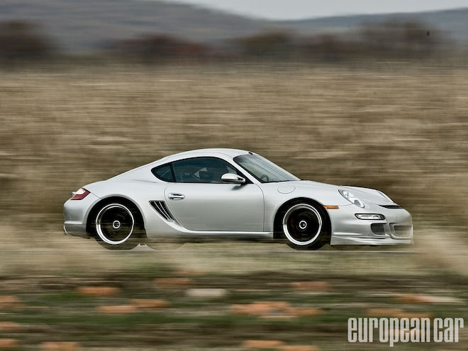 2006 Porsche Cayman S European Car Magazine