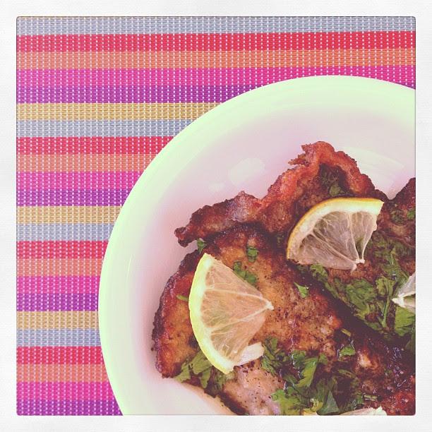 Scaloppine al limone e buon appetito!