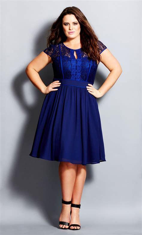 City Chic   ROMANTIC ROSA DRESS   Women's Plus Size