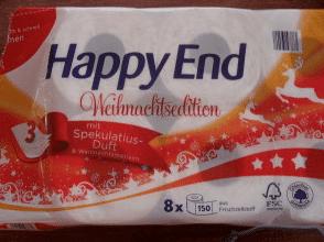 happy end toilet papier