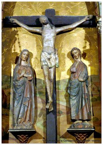 Crucificado en la Concepción de Madrid