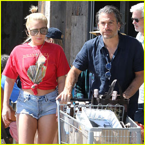Lady Gaga & Christian Carino Stock Up for July 4!