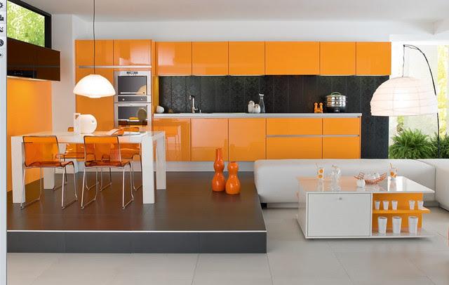 orange-kitchen