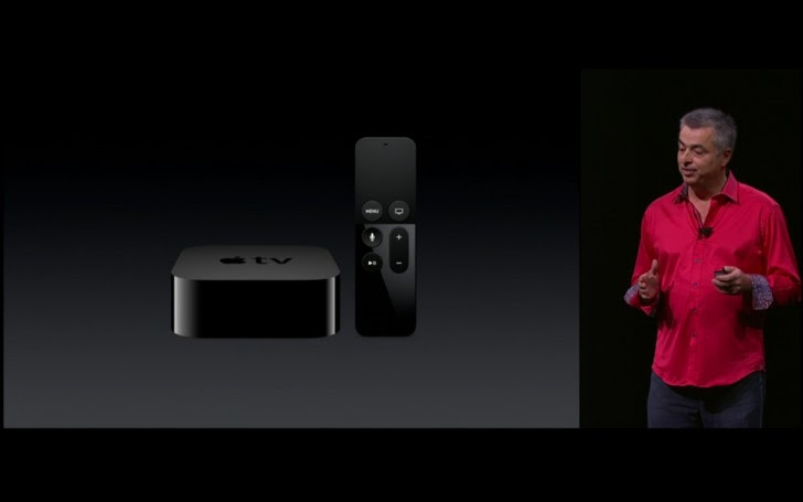 The new Apple TV has a Bluetooth remote with touch and Siri