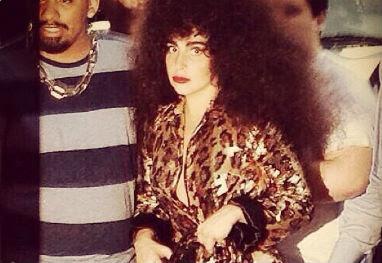 Lady Gaga investe em peruca black power para evento - Reprodução/Instagram