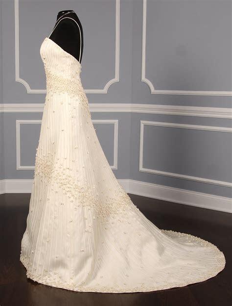 Matthew Christopher Discount Designer Wedding Dress