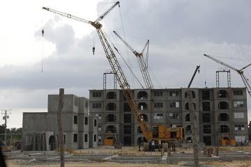 Las construcciones ayudaron al crecimiento económico de Cuba en 2015.
