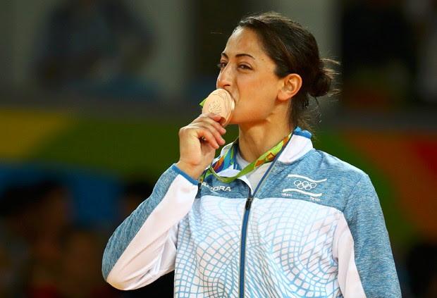 Yarden Gerbi conquistou uma das duas medalhas de Israel no Rio (Foto: Kai Pfaffenbach/Reuters)