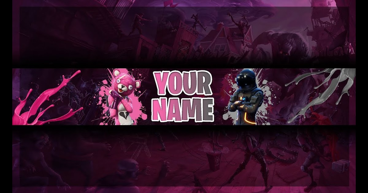Fortnite Youtube Banner No Text