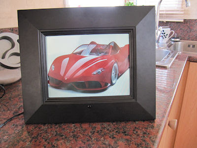 Sungale Wi Fi Touch Screen Id800wt Digital Photo Frame Product