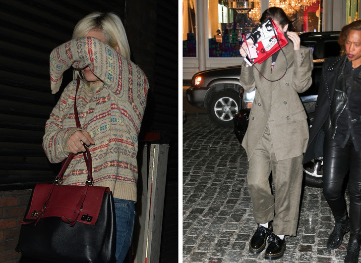15 - Lily Allen and Bella Hadid do exactly the same thing.