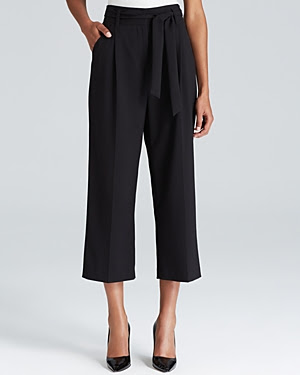 Adrianna Papell Cropped Wide Leg Pants