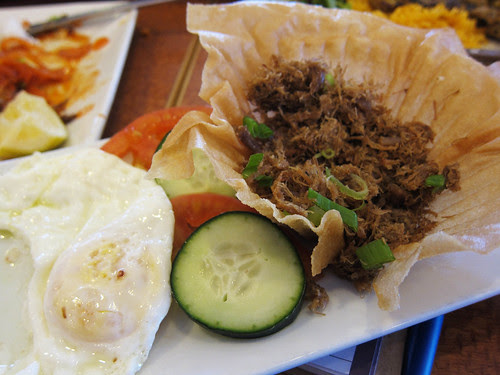 Filipino Lunch at Jeepney Asian Grill