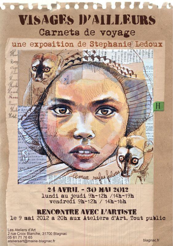 Affiche Stéphanie Ledoux