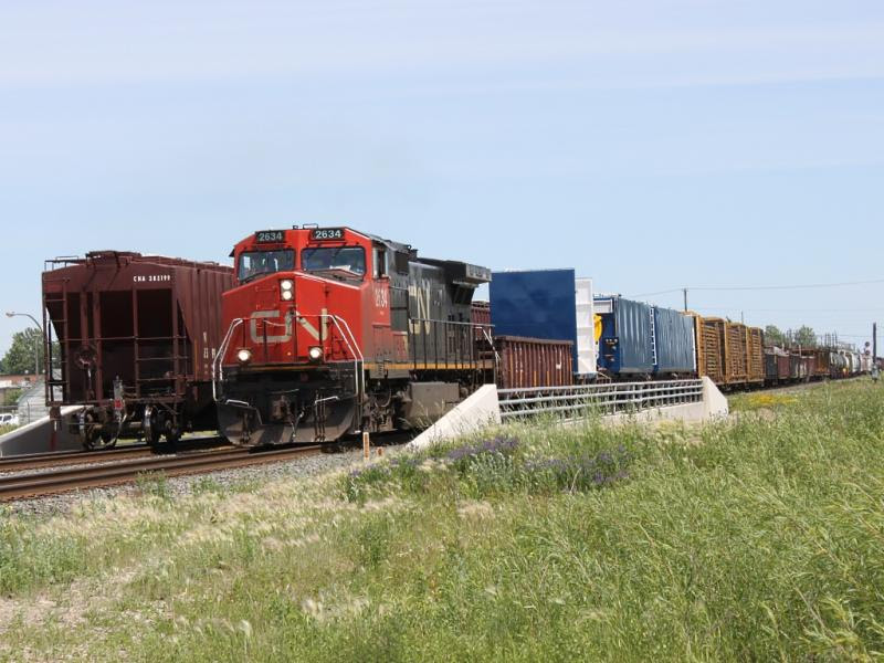 CN 2634 in Winnipeg, MB
